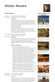 alongfear cf hotel and restaurant management sample resume