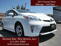 win a toyota prius 2014 toyota prius three 4dr hatchback in los angeles ca win