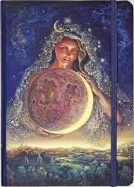 moon goddess journal diary notebook pauper press