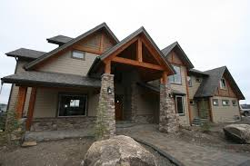 Rustic view home