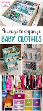 diy storage ideas for clothes 9 ways to organize baby clothes baby clothes storage clothes