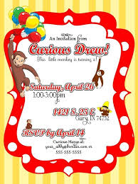 best 25 curious george invitations ideas on pinterest curious