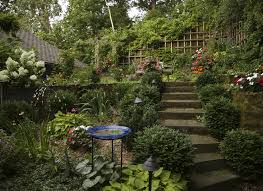 beautiful gardens secret garden grows in unlikely setting in