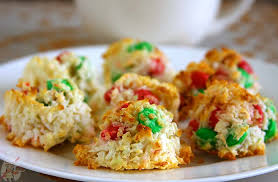 coconut macaroon cookies eggless cooking