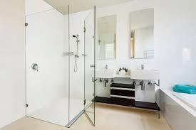 corian and stormtech u0027s no grout shower floor reno addict