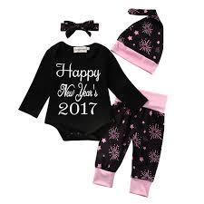 new year baby clothes 4pcs happy new year baby clothing set baby boy infant