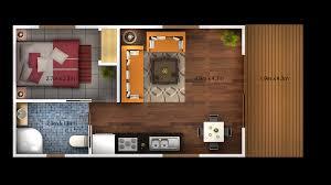 One Bedroom Cabin Floor Plans Converted Garage Modern Living Room Tv Home Design Ideas