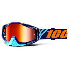 100 motocross goggle racecraft watermelon 100 prozent racecraft goggle brille verspiegelt dh mtb mx