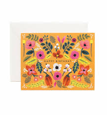 folk happy birthday card papershop
