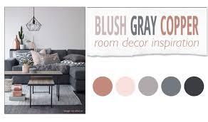 Copper Room Decor | blush gray copper room decor inspiration the pixel odyssey