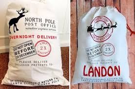 santa sacks groopdealz personalized santa sack