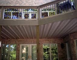 under deck ceiling covers patio in st louis st louis decks