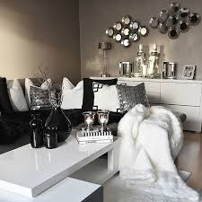 Best Dream House  Images On Pinterest Bedroom Ideas - Black white and silver bedroom ideas