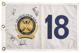 Prestige Golf Flags Lot Detail 2002 Pga Grand Slam Of Golf Signed Flag By All Four