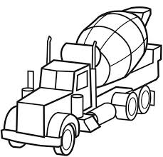 coloring charming coloring book truck print pages kids
