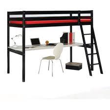 auchan bureau lit mezzanine astrid 90x190 cm bureau pas cher à prix auchan