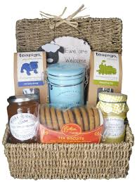 new home gift ewe are welcome food hamper basket unique new home gift set