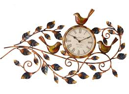 metal handcrafted wall clock wall designs handcrafated home design