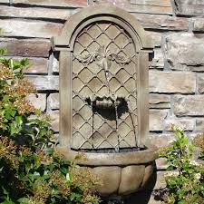 garden wall fountains crafts home