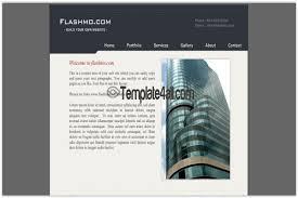 flash website template free free flash website templates