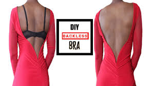 Backless Bra For Wedding Dress How To Make A Backless Bra For All Sizes Youtube
