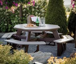 Octagon Patio Table Plans Octagonal Picnic Table Plans Finding The Most Effective Choice