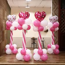 wedding arches and columns wholesale wholesale 30sets 150cm balloon column base stick plastic poles