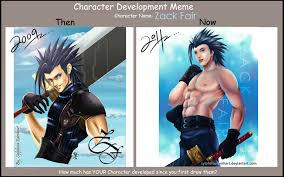 Zack Meme - zack fair development meme by sylphinaedenhart on deviantart