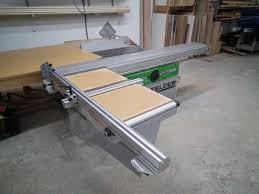 felder table saw price used felder k700 s sliding table saw coast machinery group