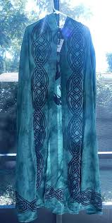 pagan ceremonial robes tree of cotton green and black wiccan pagan ritual robe