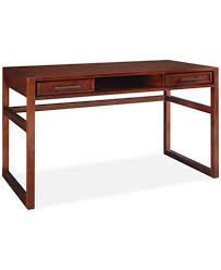 battery park home office 2 drawer writing desk furniture macy u0027s