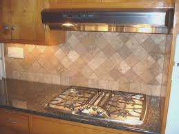 backsplash cool travertine tile kitchen backsplash interior