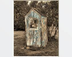 Bathroom Outhouse Decor Outhouse Etsy