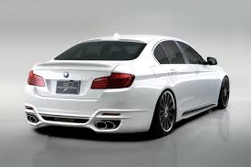 modified bmw 2011 bmw 5 series sedan gets a modified look by wald international