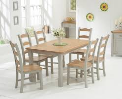 buy the somerset 150cm oak and grey dining table with somerset