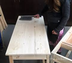 white stain on wood table ultimate wood staining guide ana white woodworking projects