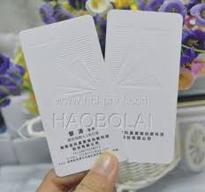 350g business paper card white gold foil stamp logo size 90 54mm