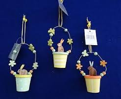 Easter Decorations Gisela Graham by Easter Tree Decorations Ebay