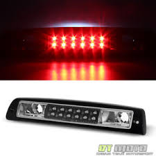 2001 dodge ram 1500 third brake light black 1994 2001 dodge ram 1500 2500 3500 led 3rd brake light 94 01