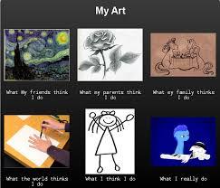 Modern Art Meme - my art meme by 3600letgo on deviantart
