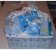 baby basket gifts project center baby boy gift basket tag card