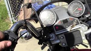 trying to get a honda shadow vt500c started