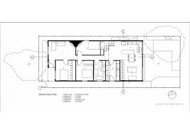 extension of a building into a two level contemporary house which