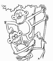 monkey coloring pages 623 553 553 coloring books download