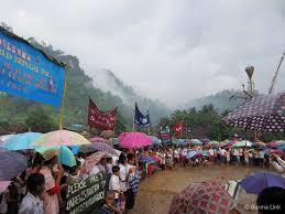 High Camp Gardenias by Refugee Camps In Thailand Burma Link