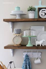 farmhouse chic dining room shelves lolly jane