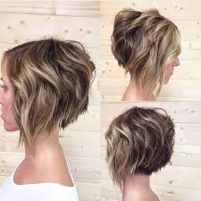 Bob Frisuren Dicke Frauen by 10 Trendy Gestapelt Frisuren Für Kurze Haare Praktikabilität