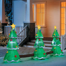 inflatable lightshow christmas tree pathway markers improvements