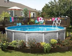 Backyard Above Ground Pools by Above Ground Pool Ideas For Small Backyards Backyard Fence Ideas