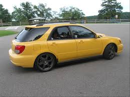 yellow subaru wagon 2003 subaru impreza wrx sport wagon related infomation